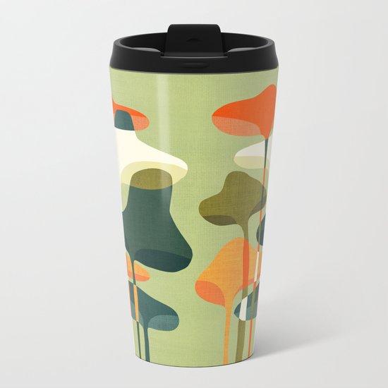Little mushroom Metal Travel Mug