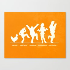 Bluth Chickens Canvas Print