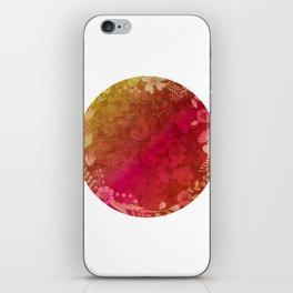 Vintage Rainbow Floral iPhone Skin