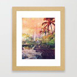 Maui Roots Framed Art Print
