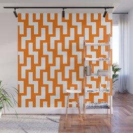 Tukutuku Inspirations 1 - Orange Wall Mural
