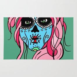 Pastel Sugar Skull Rug