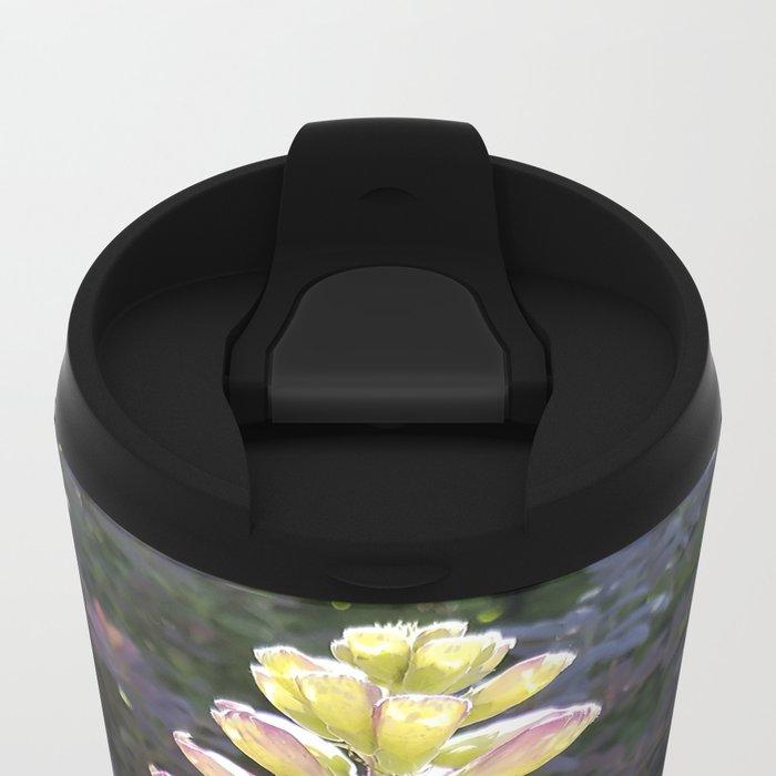 Gloves in summer!  Foxglove, Digitalis purpurea Metal Travel Mug