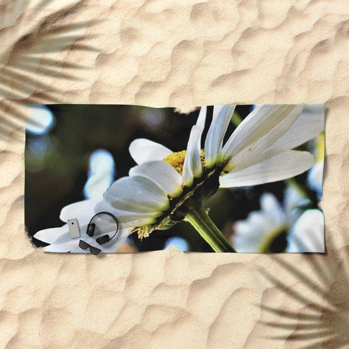Flower No 4 Beach Towel