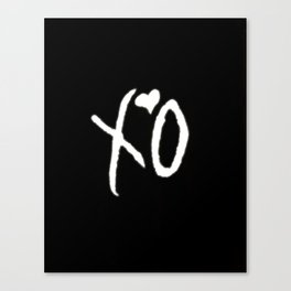 The Weeknd - x o #2 Canvas Print