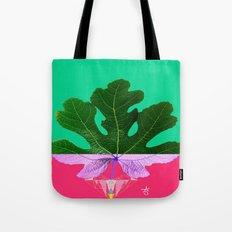 Fig Leaf Diamond Christmas - Other Half and Half Tote Bag
