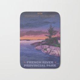 French River Provincial Park Bath Mat