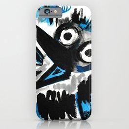 Horrified Crow iPhone Case