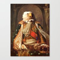eagle Canvas Prints featuring Eagle by Matthew Broussard