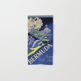 Vintage Mermaid Bermuda Hand & Bath Towel