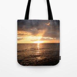 Good night sun! Tote Bag
