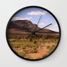 Rawnsley Bluff in the Australian Flinders Ranges Wall Clock