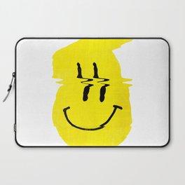 Smiley Glitch Laptop Sleeve
