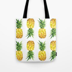 Pineapple Abstract Triangular  Tote Bag
