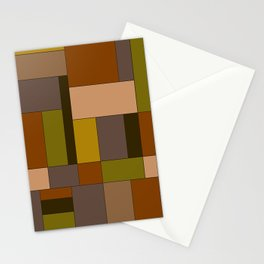 Abstract #370 Mondrian #6 Stationery Cards