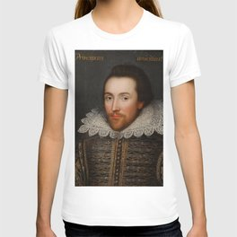 Vintage William Shakespeare Portrait T-Shirt