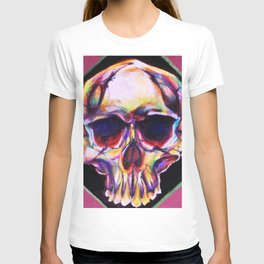 skull with ears T-shirt