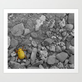 Little Bugger Art Print