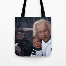 I Find Your Lack Of Jiggawatts Disturbing Tote Bag