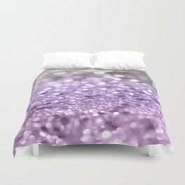 Purple Lavender Glitter #1 #shiny #decor #art #society6 Duvet Cover