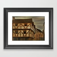 King Johns Hunting Lodge Framed Art Print