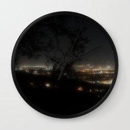 While Los Angeles Sleeps Wall Clock
