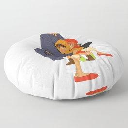 best mom in the world Floor Pillow