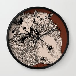 Trashpuppies Wall Clock