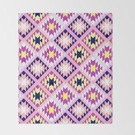 Aztec 3 Warm Throw Blanket