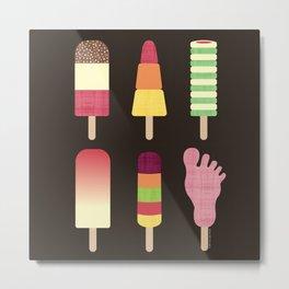 I Scream, You Scream, We All Scream For Ice cream Metal Print