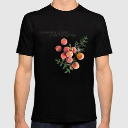 Call Me By Your Name - Inscription T-shirt