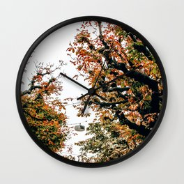 Don't Leaf Me | Lucerne, Switzerland Wall Clock