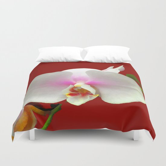 Blushing Duvet Cover
