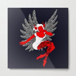 Fallen Angel Metal Print