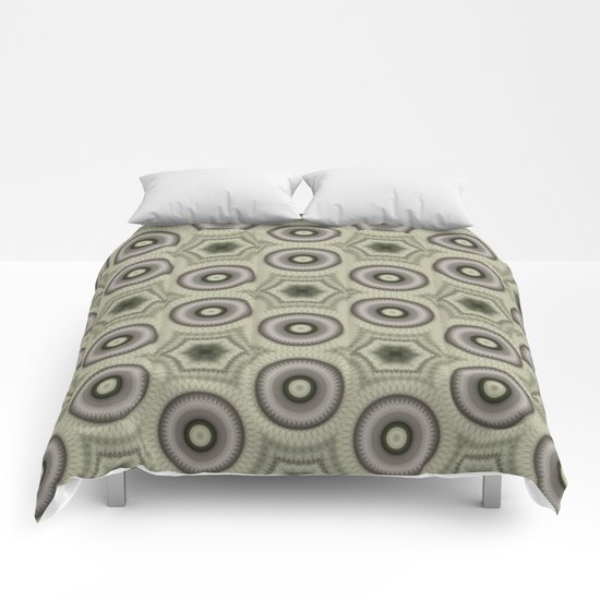 Fractal Cogs n Wheels in CMR03 Comforters