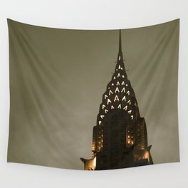Chrysler Building at Twilight Wall Tapestry