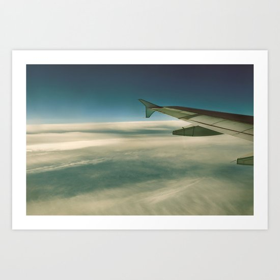 Way Up Here Art Print