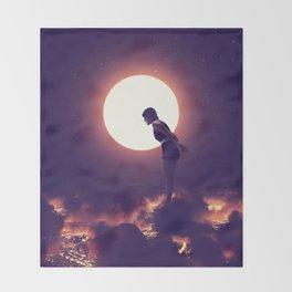 Summer Nights Throw Blanket