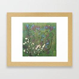 Lost Flowers Framed Art Print