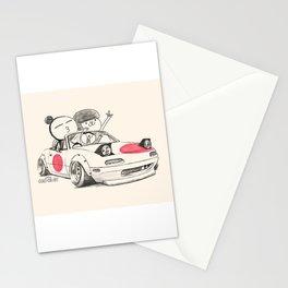 Crazy Car Art 0167 Stationery Cards