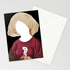 Another Classic Protrait Disaster · The Unknown 1 Stationery Cards