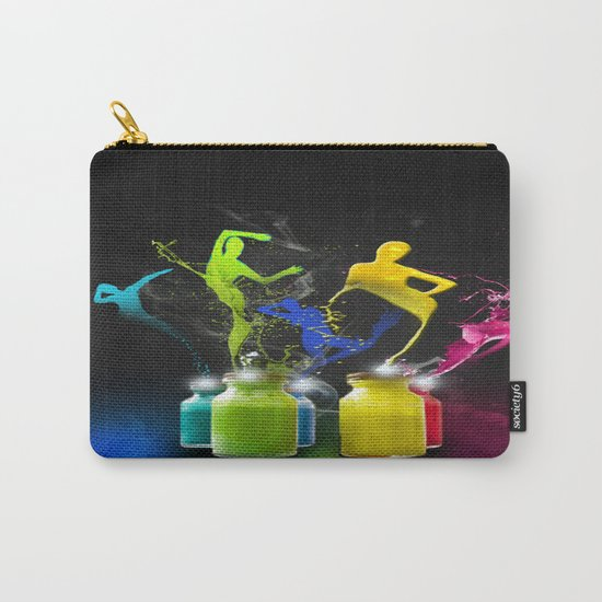 Paint Dancers Carry-All Pouch