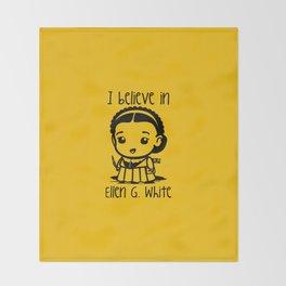 I believe in Ellen G. white Throw Blanket