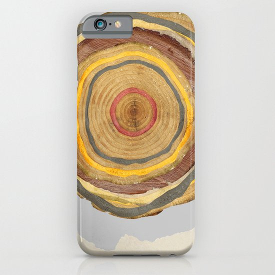 Tree Rings iPhone & iPod Case