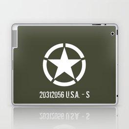 Vintage WWII ETO Star Laptop & iPad Skin