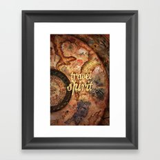 Travel Spirit #10 Framed Art Print