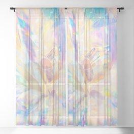 Glitter Sheer Curtain