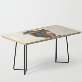 Squirrel with lollipop Coffee Table