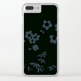 Japanese Oleanders Midnight Clear iPhone Case