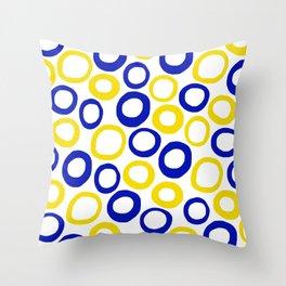 Calamari Hoops 01 Throw Pillow